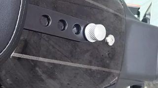 シートの固定ボルトが飛んでった・・・(XL1200CX)